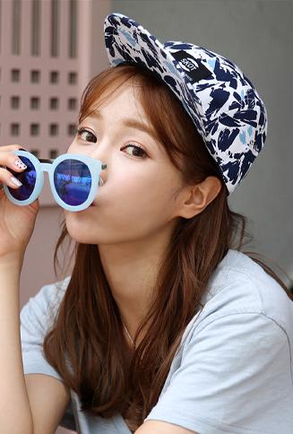 유엔캠프 모자