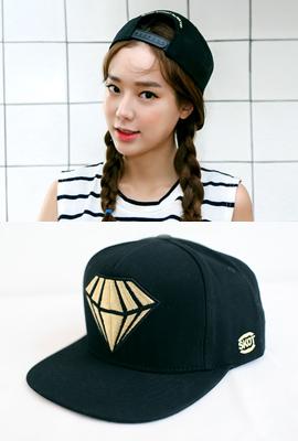 골드 다이아몬드 모자